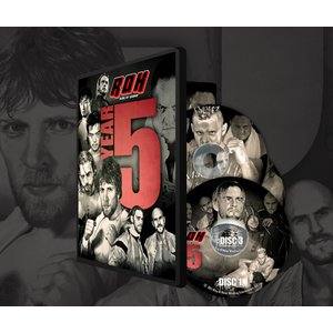 ROH DVD「Ring Of Honor:Year Five 〜2006年のROH」【ROH2006年名勝負集(3枚組)】