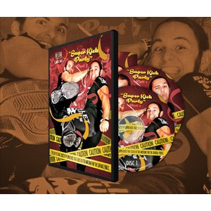 ROH DVD「THE YOUNG BUCKS:Super Kick Party Part 1」【ヤングバックス2枚組ベストDVD】
