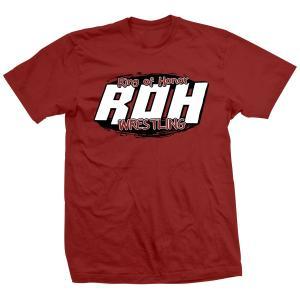ROH ビンテージ・ロゴ Tシャツ「Ring Of Honor ROH Circle Tシャツ」【アメリカ直輸入 大きいサイズ(XXL 3XL 4XL)もあり】|freebirds