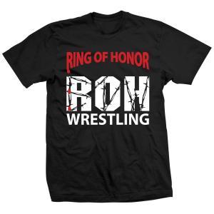 ROH ビンテージ・ロゴ Tシャツ「Ring Of Honor Tribute To Philly Tシャツ」【アメリカ直輸入 大きいサイズ(XXL 3XL 4XL)もあり】|freebirds