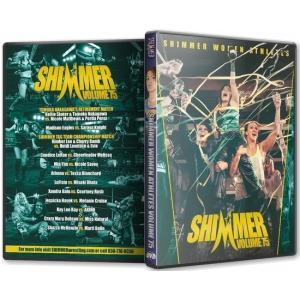 SHIMMER DVD「SHIMMER Women Athletes Vol.75」(2015年4月12日)【中川ともか 引退試合】
