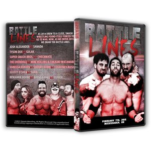 Smash Wrestling DVD「Battle Lin...