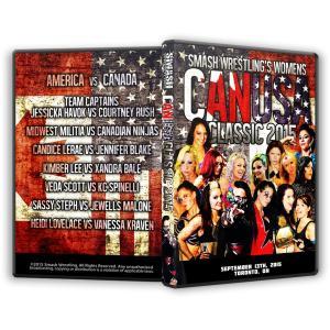 Smash Wrestling DVD「CANUSA Cla...
