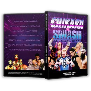 SMASH Wrestling DVD「CHIKARA vs...