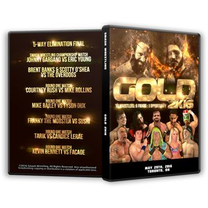 Smash Wrestling DVD「GOLD 2K16」...