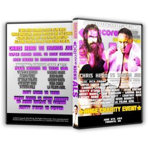 Smash Wrestling DVD「Smash&DRIcore Kicks ALS」(2015年6月6日カナダ・オンタリオ州トロント)【サモア・ジョー対クリス・ヒーロー】