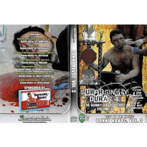 SMV DVD「Surprisingly Durable:The DANNY HAVOC Story Vol.3」【ダニー・ハボックインタビュー&名勝負傑作選3枚組DVD】米直輸入DVD|freebirds