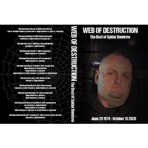 SMV DVD「Web Of Destruction:The Best Of SPIDAR BOODROW」【スパイダー・ブードロウ名勝負傑作選】|freebirds
