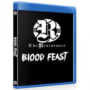 The Resistance ブルーレイ「Blood Feast デスマッチトーナメント 」(2019年7月12日イリノイ州サミット)米直輸入盤 freebirds