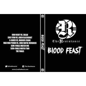 The Resistance DVD「Blood Feast デスマッチトーナメント 」(2019年7月12日イリノイ州サミット)米直輸入盤