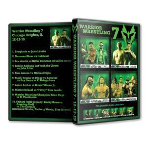 Warrior Wrestling DVD「WARRIOR WRESTLING 7」(2019年12月13日イリノイ州シカゴ)アメリカ直輸入盤プロレスDVD《日本盤未発売》鈴木みのる参戦 freebirds
