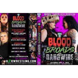 WH20 Women's Wrestling DVD「Blood, Broads & Barbwire」(2019年5月4日ニュージャージー)アメリカ直輸入盤DVD《日本盤未発売》|freebirds