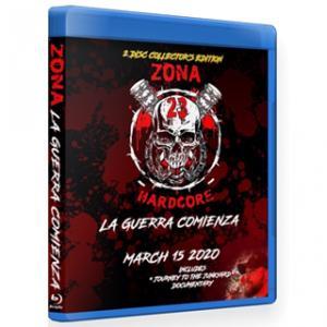 《現品特価》Zona-23 ブルーレイ「La Guerra Comienza(2枚組)」(2020年3月15日メキシコ・メキシコシティ)米直輸入盤《日本盤未発売》ジャンクヤードルチャ freebirds