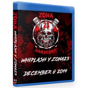 《現品特価》Zona-23 ブルーレイ「Whiplash」(2019年12月8日メキシコ・メキシコシティ)米直輸入盤《日本盤未発売》ジャンクヤードルチャリブレ freebirds