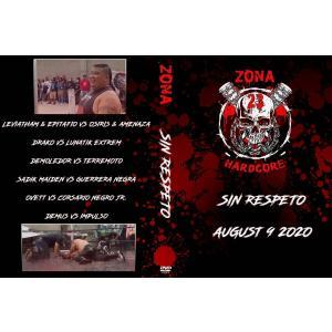 《現品特価》Zona-23 DVD「Sin Respeto」(2020年8月9日メキシコ)米直輸入盤《日本盤未発売》 freebirds