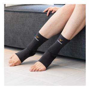 アンクルコンフォートは足首を程よくホールドする立体的なパターン構造で、足首のケアにお勧めの商品です。...