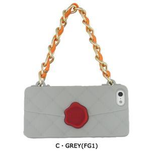 【値下げ iPhone5 5S SE】Candies CLICHE SEAL STANPED Grey 製品型番:OR32909(FG1) ポイント消化|freedom-telwork