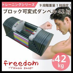 【予約受付中】重量 可変式 ブロック ダンベルセット トレーニング 筋トレ MAX約42kg ピン差し替え キューブタイプ 【同梱不可】|freedom-telwork