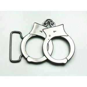 ベルト バックル 手錠 シルバーカラー buc-00074 メンズ アクセサリー 【メール便対応】┃ freedom-web