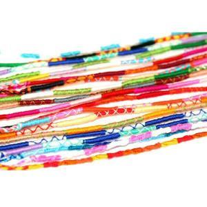 ミサンガ プロミスリング 10本セット 細い糸の編み込みハンドメイド ブレスレット ゲリラ 【メール便対応】┃ freedom-web 02
