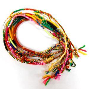 ミサンガ プロミスリング 10本セット 細い糸の編み込みハンドメイド ブレスレット ゲリラ 【メール便対応】┃ freedom-web 03