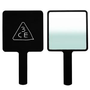 3CE スクエア ハンドミラー #BLACK (ブラック) [ スクウェア 黒 手鏡 鏡 ミラー S...