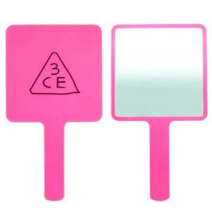 3CE スクエア ハンドミラー #PINK (ピンク) [ スクウェア 手鏡 鏡 ミラー SQUAR...