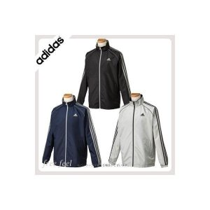 adidas アディダス 3S ブライトツイルジャケット パンツ 上下セット CL885 秋冬 ファッション ジャージ アウター ジャケット ブラック|freefeel