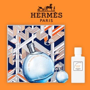 数量限定 エルメス HERMES オーデメルヴェイユ ブルー オードトワレ EDT ギフト セット [ クリスマスコフレ 2017 プレゼント に!] [ 香水 ]|freefeel