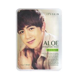 イッツスキン It's skin アロエ カーミング シートマスクパック 22g×1枚韓国コスメ freefeel
