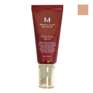 ミシャ BBクリーム UV 50ml No.23 Natural Beige SPF42 PA+++ 自然な肌色 [ 化粧下地 日焼け止め UVカット 韓国コスメ MISSHA ]|freefeel