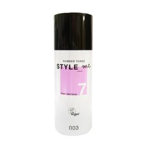 ナンバースリー スタイルミー スーパーハードスプレー 100g 美容室専売 サロン専売品 美容院 美容室 ヘアスタイリング NUMBER THREE NO3 Style me Super|freefeel