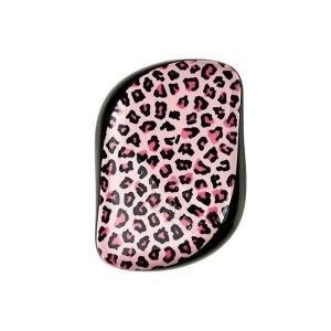 タングルティーザー コンパクトスタイラー ピンクレオパード PINK LEOPARD [ ヘアブラシ くし ヘアケア 頭皮 濡れ髪 定番 携帯 豹 ヒ|freefeel