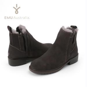 ムートン サイドゴア ブーツ防水 エミュ エミュー EMU パイオニア Pioneer W11292 2017 秋冬 送料無料|freekstore