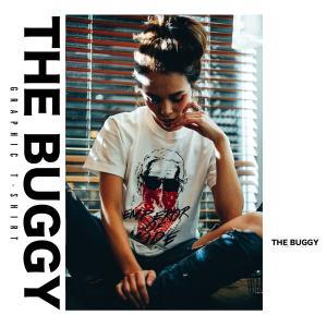 Tシャツ シャツ クルーネック カットソー アート buggy バギー レディース メンズ 半袖 てろT【送料無料メール便】|freekstore