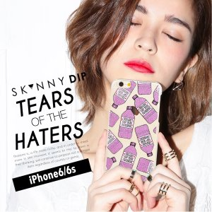 iPhone iPhone6/6s スキニーディップ SKINNYDIP Tears of the Haters ティアーズオブザヘイター ケース カバー シリコン アイフォーン メール便 送料無料|freekstore