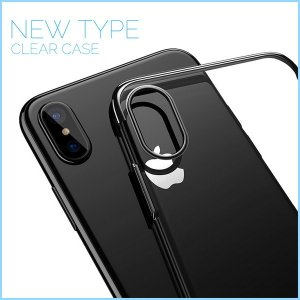 iphone8 iphone X ケース カバー 半透明 ソフトケース クリア 透明 Apple iPhoneケース|freekstore