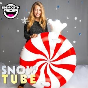 そり 雪そり 雪遊び スノーチューブ スノボー スノーボード スキー エアーチューブ ビッグマウス 人気 プレゼント BIGMOUTH SNOWTUBE ペパーミントキャンディー freekstore