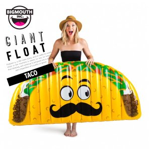 浮き輪 浮輪 うきわ ウキワ 大型 大きい ビッグ フロート 水着 ビキニ BIGMOUTH ビッグマウス タコス インテリア ビーチ リゾート プール|freekstore