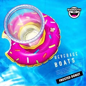 浮き輪 浮輪 ウキワ 極小 小さい フロート ドリンク ホルダー スモール ドーナツ 3ピース セット 面白 ビーチ リゾート プール 水着 インテリア|freekstore