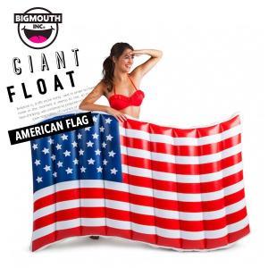 浮き輪 浮輪 うきわ ウキワ 大型 大きい ビッグ フロート 水着 ビキニ BIGMOUTH ビッグマウス アメリカンフラッグ ビーチ リゾート プール|freekstore