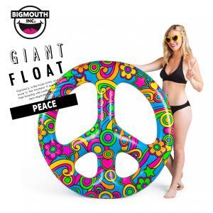 浮き輪 浮輪 うきわ ウキワ 大型 大きい フロート 水着 ビキニ BIGMOUTH ビッグマウス ピースサイン インテリア ビーチ リゾート プール|freekstore