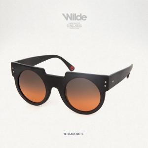サングラス レディース メンズ Wilde SUNGLASSES ワイルドサングラス Y2 マットブラック Black matte 送料無料|freekstore