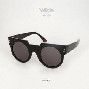 サングラス レディース メンズ Wilde SUNGLASSES ワイルドサングラス Y2 ブラック Black shine 送料無料|freekstore