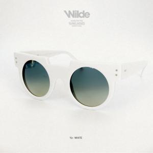 サングラス レディース メンズ Wilde SUNGLASSES ワイルドサングラス Y2 ホワイト white 送料無料|freekstore