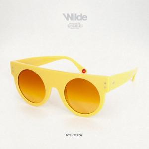 サングラス レディース メンズ Wilde SUNGLASSES ワイルドサングラス JYTE イエロー yellow 送料無料|freekstore