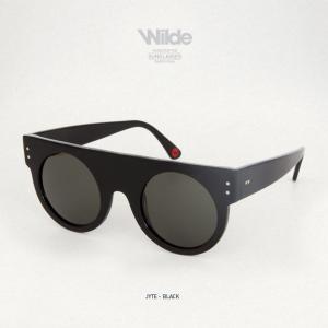 サングラス レディース メンズ Wilde SUNGLASSES ワイルドサングラス JYTE マットブラック BLACK MATTE 送料無料|freekstore