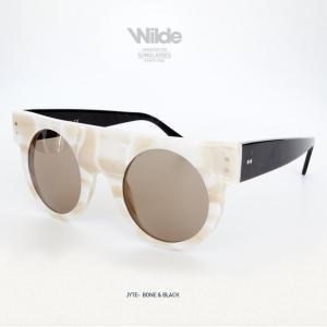 サングラス レディース メンズ Wilde SUNGLASSES ワイルドサングラス JYTE ホワイト BONE&BLACK 送料無料|freekstore