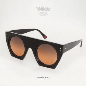 サングラス レディース メンズ Wilde SUNGLASSES ワイルドサングラス california ブラック BLACK MATTE 送料無料|freekstore