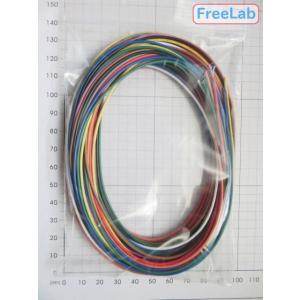 電線AWG26-2m【10色組】|freelab